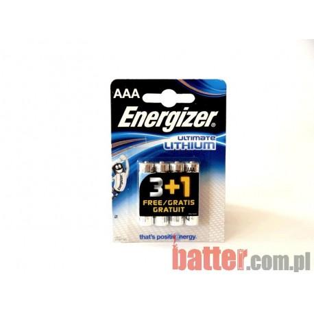 ENERGIZER LITHIUM AAA L92/4SZT