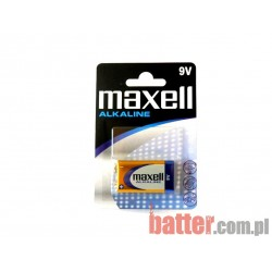 MAXELL 9V 6LR61 /1SZT