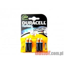 DURACELL TURBO AAA LR03/4SZT