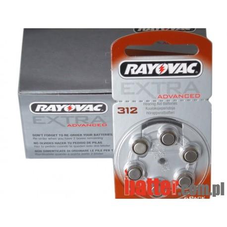 RAYOVAC PR 312/6SZT