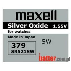 MAXELL SR 379/ 10SZT /521